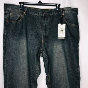New Beverly Hills Polo Club Mens Jeans Denim 38X36